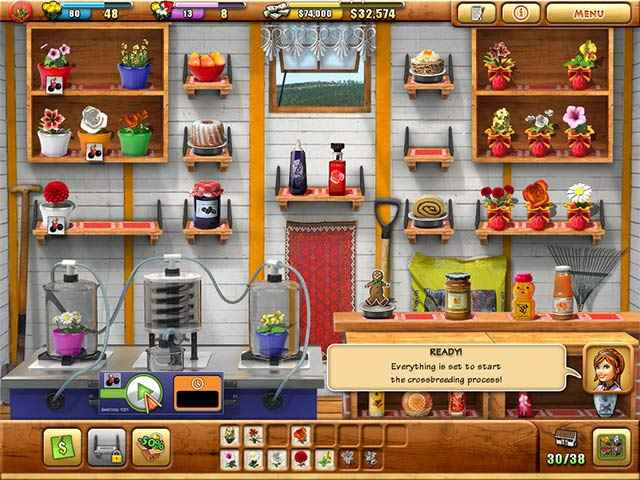 fiona finch and the finest flowers screenshots 2