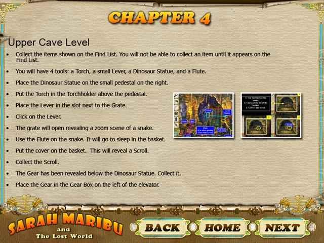 sarah maribu and the lost world strategy guide screenshots 2
