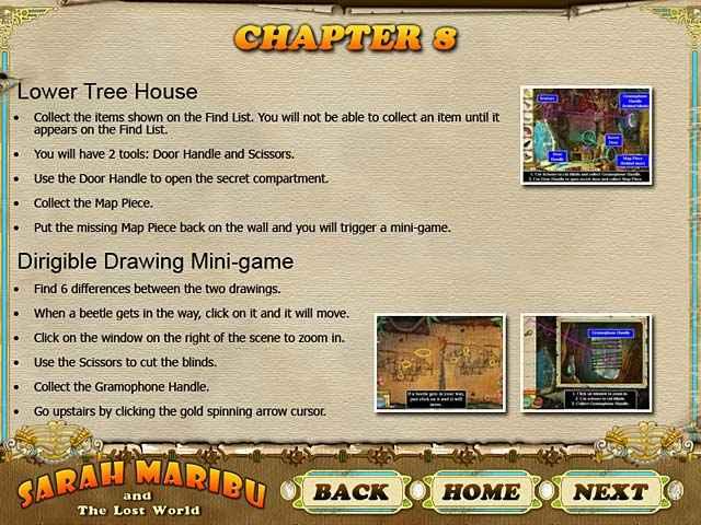 sarah maribu and the lost world strategy guide screenshots 3