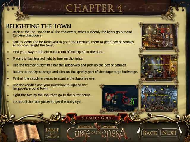 nightfall mysteries: curse of the opera strategy guide screenshots 4