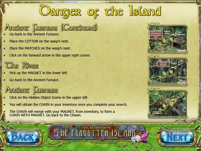 secret mission: the forgotten island strategy guide screenshots 3