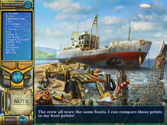 pathfinders: lost at sea screenshots 1