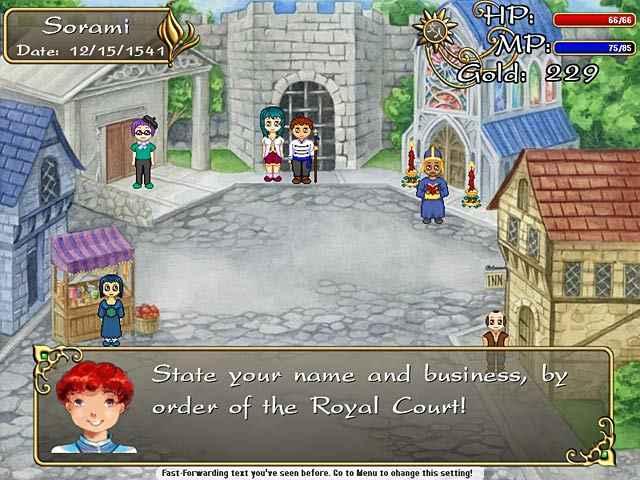 cute knight kingdom screenshots 1