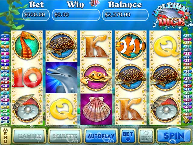dolphins dice slots screenshots 4