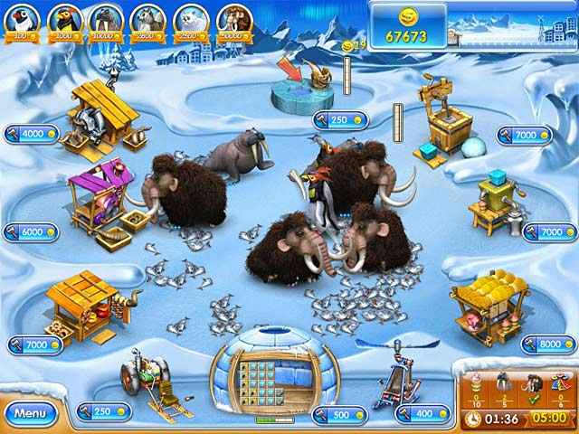 farm frenzy 3: ice age screenshots 2