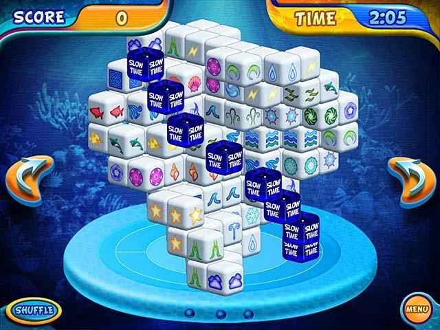 mahjongg dimensions deluxe screenshots 1