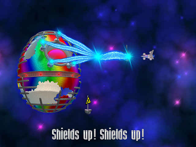 chicken invaders 3: revenge of the yolk easter edition screenshots 3