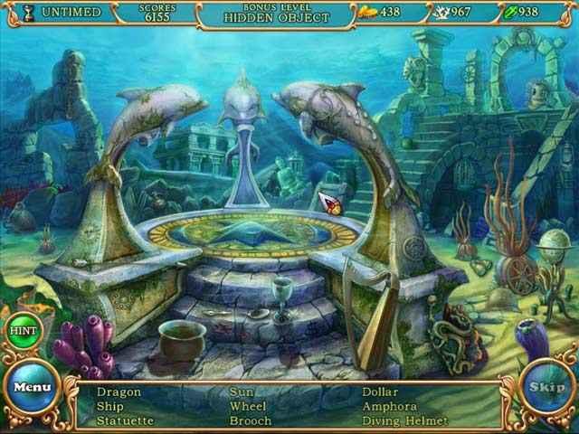 hidden wonders of the depths 3: atlantis adventures screenshots 1