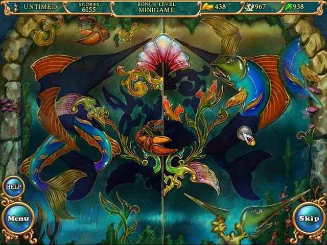 hidden wonders of the depths 3: atlantis adventures screenshots 2