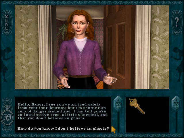 nancy drew: message in a haunted mansion screenshots 1
