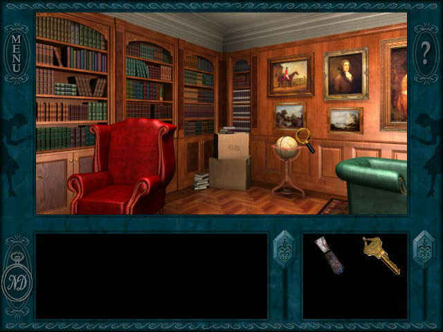 nancy drew: message in a haunted mansion screenshots 3