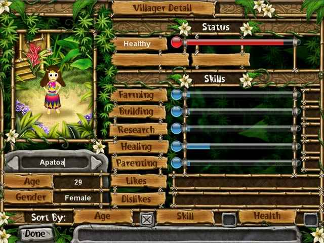 virtual villagers: the tree of life screenshots 3