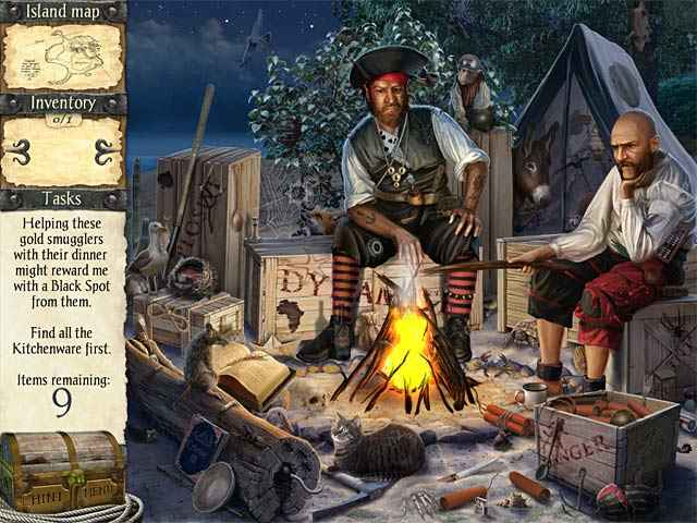 robinson crusoe and the cursed pirates screenshots 1