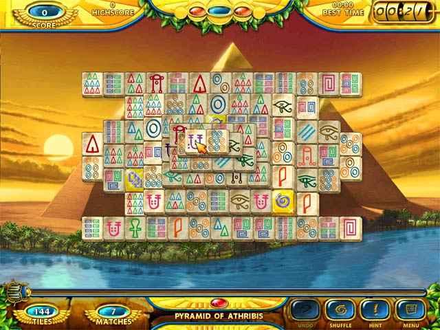 mahjongg - ancient egypt screenshots 1