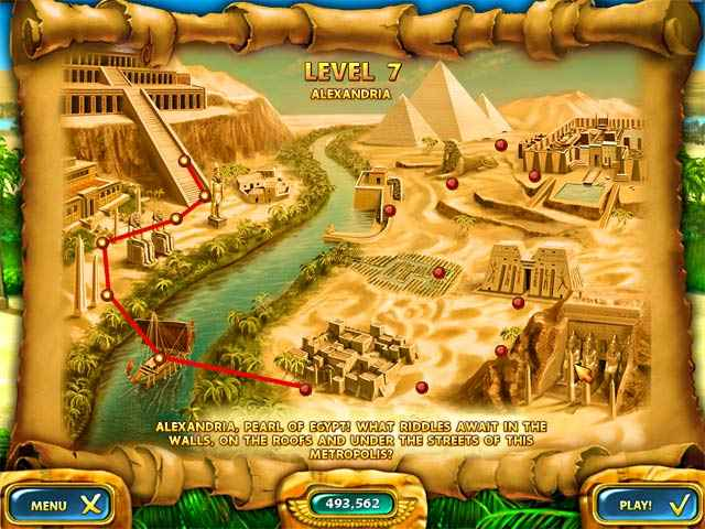 mahjongg - ancient egypt screenshots 2