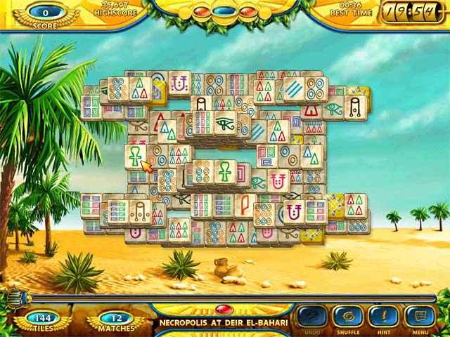 mahjongg - ancient egypt screenshots 3