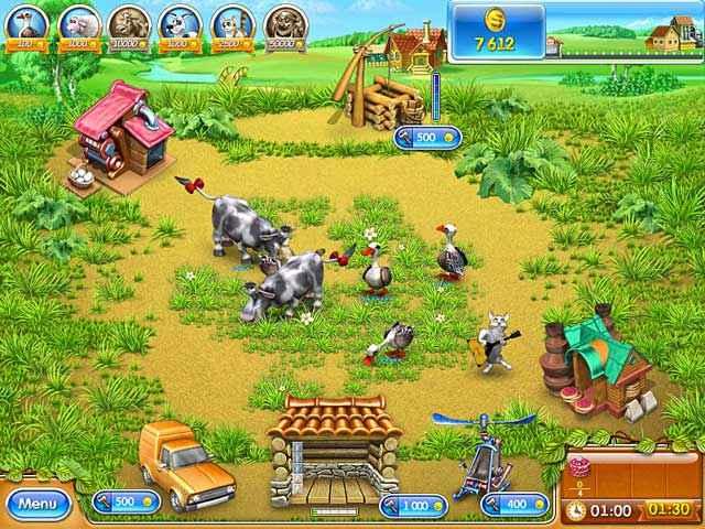 Farm Frenzy 3: Russian Roulette - BDStudioGames