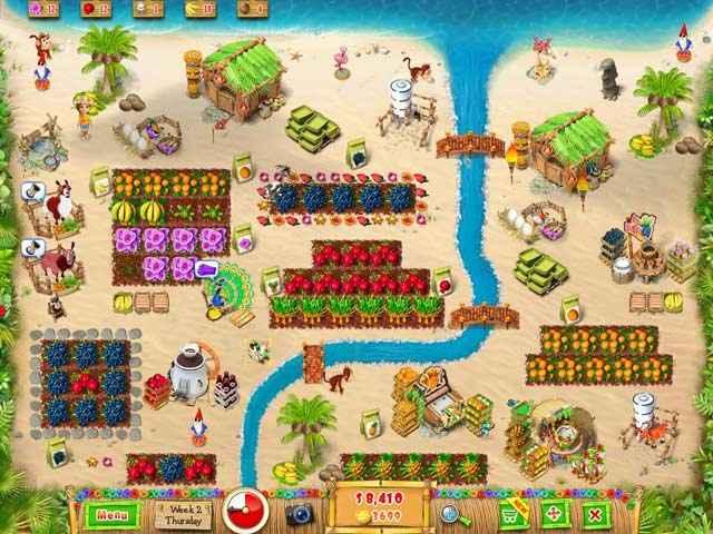 ranch rush 2 - sara's island experiment screenshots 3
