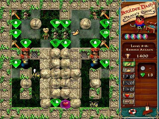 boulder dash: pirate's quest screenshots 2