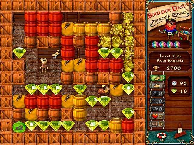 boulder dash: pirate's quest screenshots 3