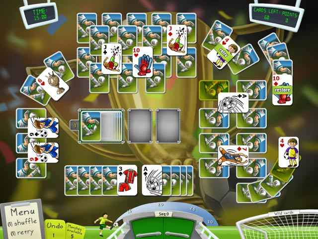 soccer cup solitaire screenshots 1