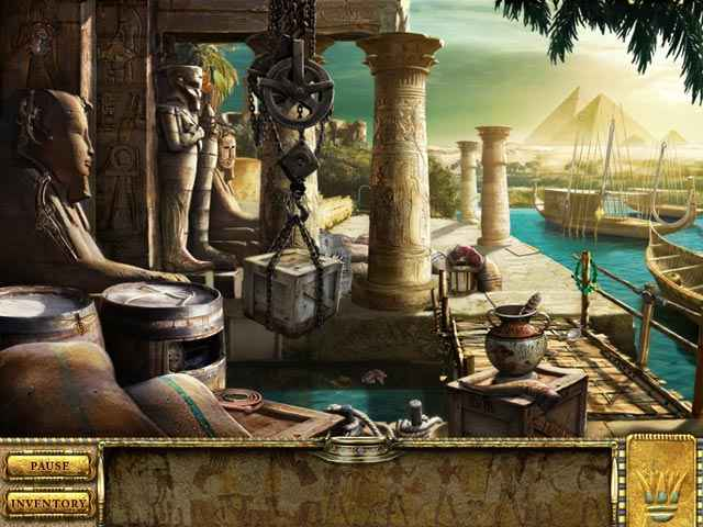 romancing the seven wonders: great pyramid screenshots 1