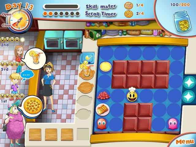 pac-man pizza parlor screenshots 1