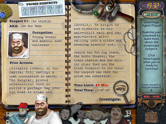 mystery case files: prime suspects screenshots 1