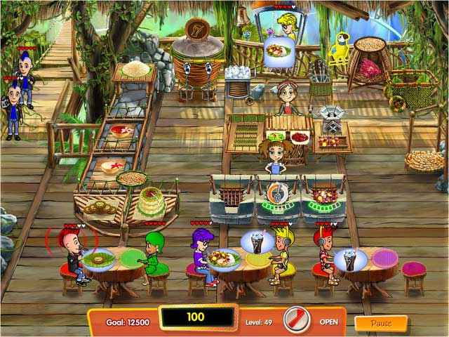 cooking dash 3: thrills and spills collector's edition screenshots 3