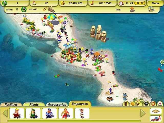 paradise beach 2: around the world screenshots 1