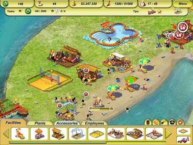 paradise beach 2: around the world screenshots 2