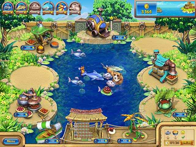 farm frenzy: gone fishing screenshots 4