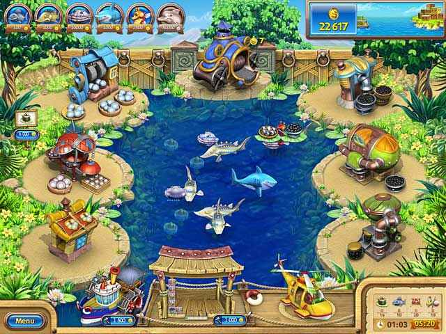 farm frenzy: gone fishing screenshots 2