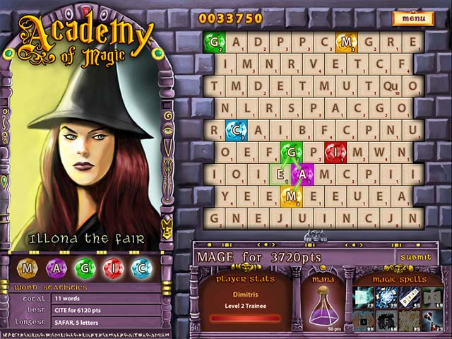 academy of magic - word spells screenshots 2