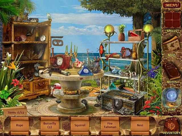 mysteries of magic island screenshots 1