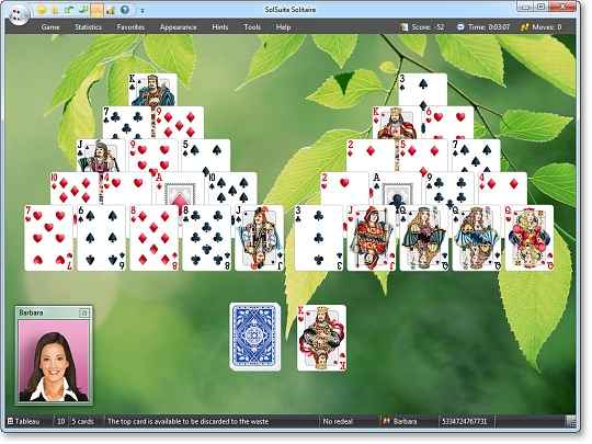 solsuite solitaire 2012 screenshots 2