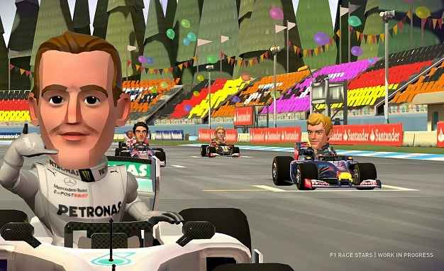 f1 race stars screenshots 2