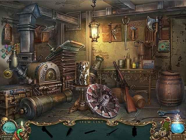 haunted legends: the undertaker collectors edition screenshots 1