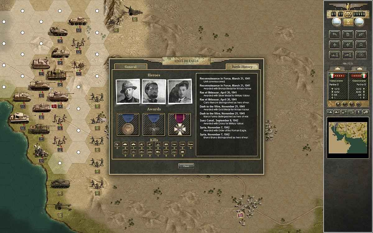 panzer corps afrika korps screenshots 2