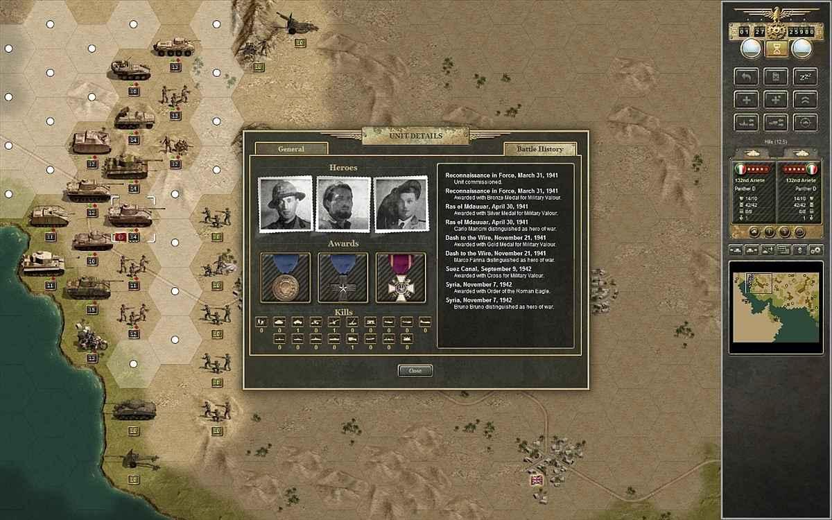 panzer corps afrika korps screenshots 3