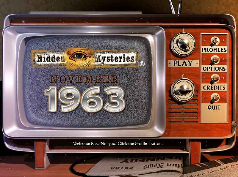 hidden mysteries: november 1963 screenshots 1