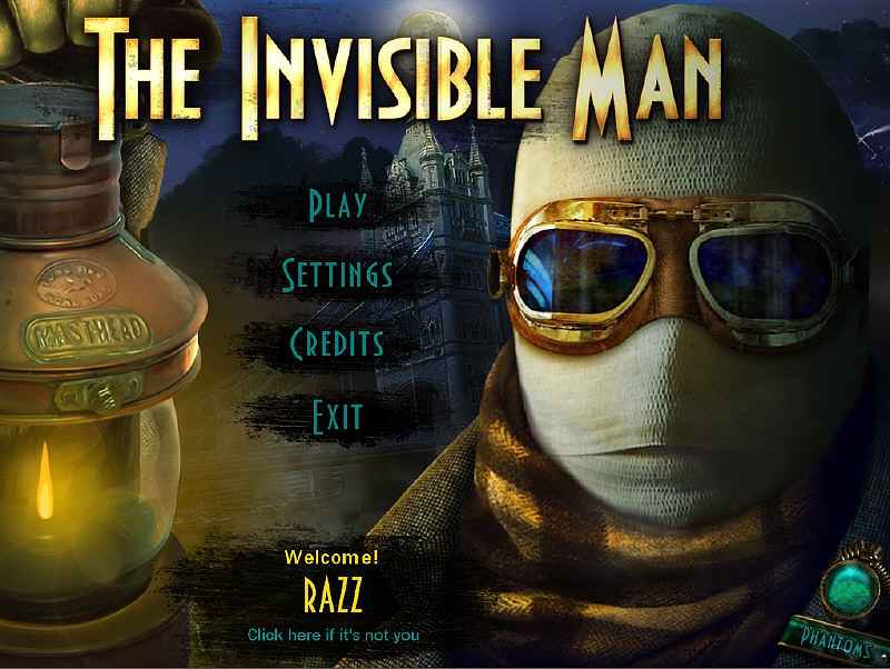 the invisible man collector's edition screenshots 2