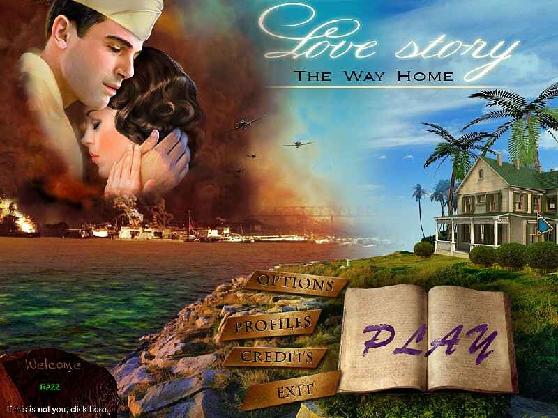 love story: the way home collector's edition screenshots 1