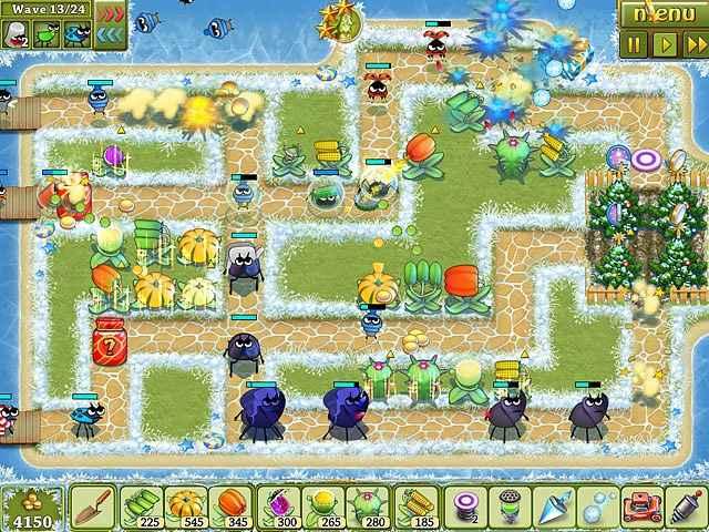 garden rescue: christmas edition screenshots 1