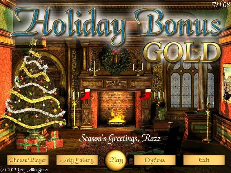 holiday bonus gold edition