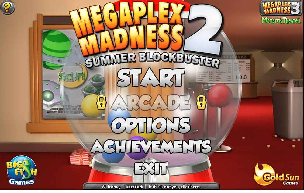 megaplex madness 2: summer blockbuster screenshots 1