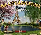 big city adventure: paris classic edition