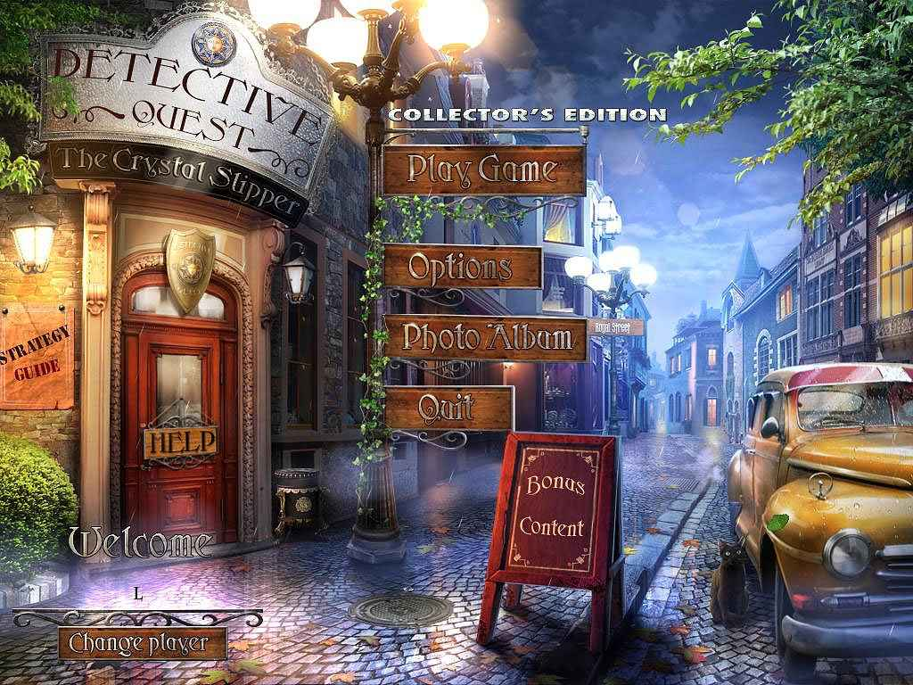 play detective quest: the crystal slipper screenshots 1