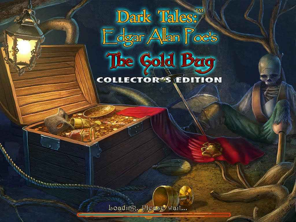 play dark tales: edgar allan poe's the gold bug collector's edition screenshots 1