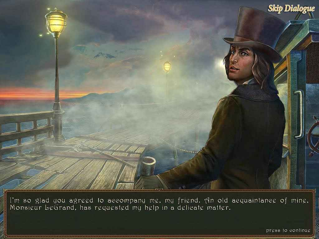 play dark tales: edgar allan poe's the gold bug collector's edition screenshots 2